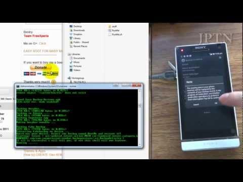 comment installer ics sur xperia s