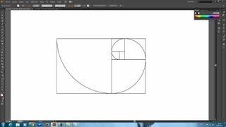 Tutorial Illustrator // Rectángulo Áureo //