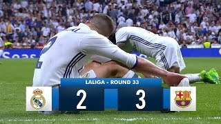 Video Real Madrid 2-3 Barcelona HD 1080i Full Match Highlights (23/04/17) MP3, 3GP, MP4, WEBM, AVI, FLV Mei 2018