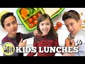KIDS SCHOOL LUNCH IDEAS   KIDS PACKING THEIR OWN LUNCHES COLLAB w/ THE WADS   PHILLIPS FamBam