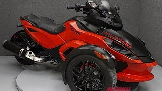 9. 2012  CAN AM  SPYDER RS-S SM5  - National Powersports Distributors