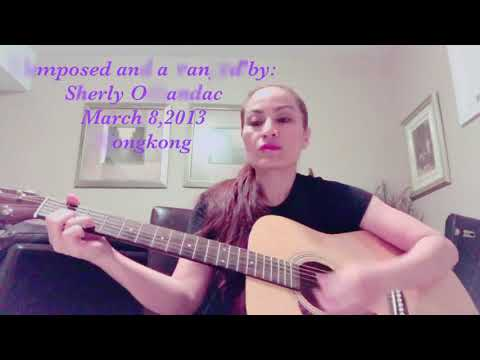 Lakbay dangal song (Journey for dignity) acoustic guitar cover by Shellyvoices