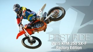 9. 2015 KTM 250 SX-F Factory Edition First Ride - MotoUSA