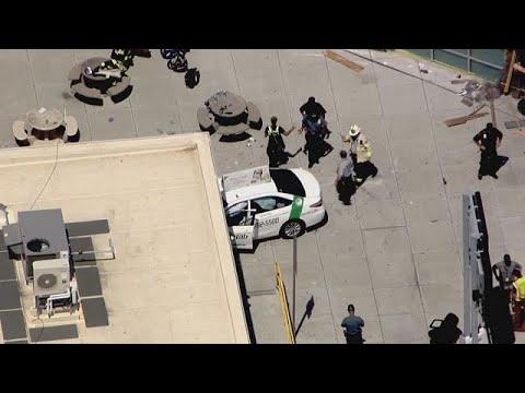 Βοστώνη: Ταξί σε ξέφρενη πορεία