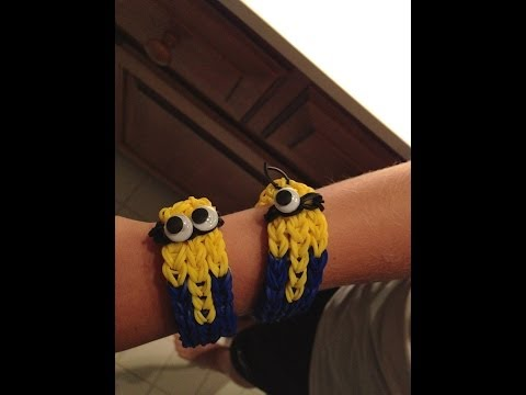 How to Make a Minion Bracelet – Rainbow Loom