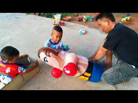 กังฟู กาฟิวส์ ได้ของเล่นใหม่ ตุ๊กตาล้มลุก ต่อยนักมวยตุ๊กตาล้มลุก สนุกกันใหญ่ครับ Kids Playtime