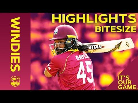 Windies vs England 4th ODI 2019 | Bitesize Highlights - Thời lượng: 2 phút, 19 giây.