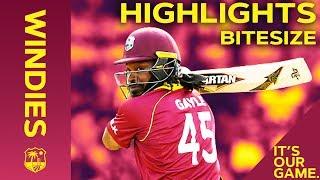 Windies vs England 4th ODI 2019 | Bitesize Highlights