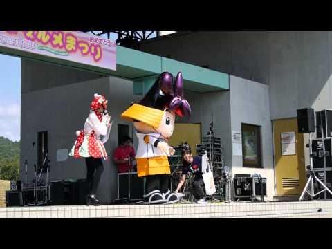 【ゆるキャラ】関市で、愛知県刈谷市の「かつなりくん」PRタイム