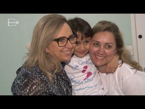 Menina Carol arrecada R$ 50 mil para viagem aos Estados Unidos; veja vídeo da entrevista - Diário do Grande ABC