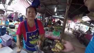 Yasothon Thailand  city photo : Grilled frog Yasothon Thailand กินอั่วกบยโสธร