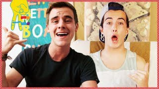 Connor Franta and Gnarly Mann: How to DIY a Gift
