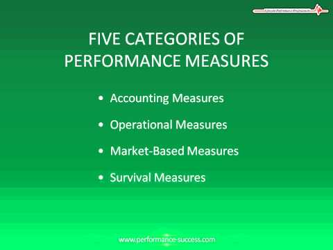 how to measure work performance