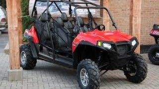 9. 2012 POLARIS RANGER RZR 4 800 EFI Review/Walk Around