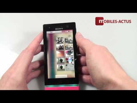 how to test sony xperia u