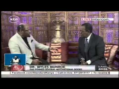 Dr. Myles Munroe speaks about death two weeks before he went to be with the Lord