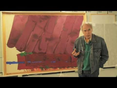 TateShots: Albert Irvin at Tate Stores