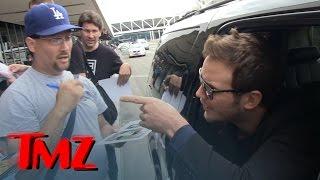 Chris Pratt -- Don't Cuss At Me! Flips on Autograph Hounds   TMZ