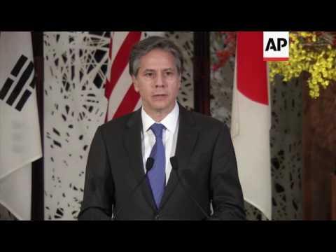 Japan, US and South Korea discuss North Korea