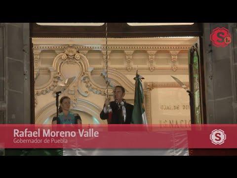 Grito de Independencia de Rafael Moreno Valle (15 de septiembre de 2014)