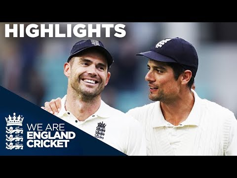 Anderson Becomes Most Prolific Fast Bowler EVER! | England v India 5th Test Day 5 2018 - Highlights (видео)