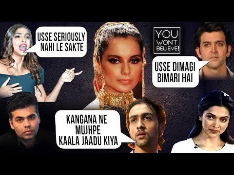 Kangana Ranaut Biggest FIGHTS Ever In Bollywood  