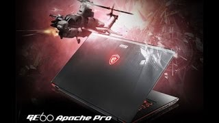 MSI GE60-003 Apache Pro Gaming Laptop W/ I7 And 860M Review