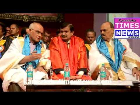 Doctorate Award To Novelist S.L. Bhyrappa, cardiologist C.N. Manjunath &A.J. Shetty in Mangaluru