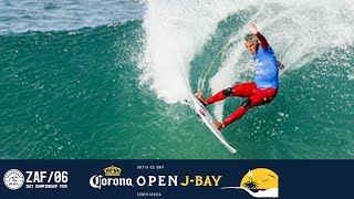 Michel Bourez battles Filipe Toledo and Ezekiel Lau in Round One, Heat 12 at the 2017 Corona Open J-Bay. #WSL #jbay Subscribe to the WSL for more action: ...