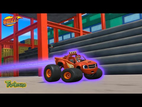 Blaze and the Monster Machines | Video Game Heroes Clip | Treehouse