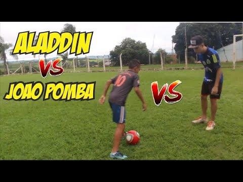 ALADDIN vs JOAO POMBA ( IDENTIDADE DA NAMORADA vs 1000 REAIS)