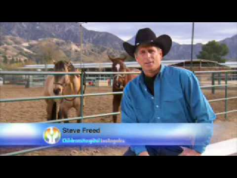 Beverly Hills Cowboy Donates to CHLA