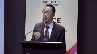 "Professor Sherman Young, Macquarie University's Pro Vice-Chancellor, Learning and Teaching, introduces the ""PACE and Employability: Exploring the Evidence"" forum."
