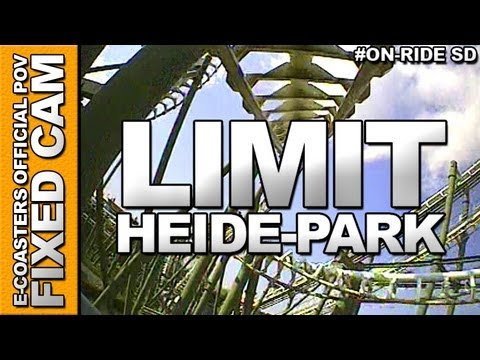 Limit On-Board Video of the rollercoaster 'LIMIT' to the Amusement Park 'Heide-Park' (Soltau, Germany).