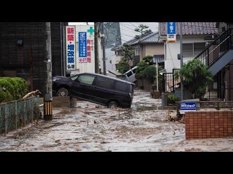 Flutkatastrophe schockt Japan – mehr als 80 Tote und  ...