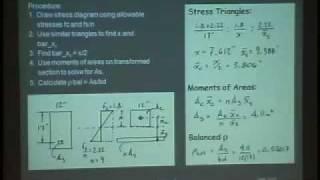 ARCH 324 - Reinforced Concrete - Lecture 3
