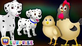 Make your kids learn farm animals and their babies with animal sounds. ChuChu TV Surprise Eggs Toys Subscribe to ChuChu TV Surprise Channel for more upcoming...