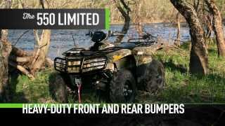 9. ARCTIC CAT  ATV MID SIZE 2014 Paving the offroad way. 550 LIMITED / 550 XT / 500 XT / 550 / 500