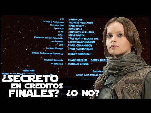 Video Star wars Rogue One ¿Secreto En Los Créditos? download in MP3, 3GP, MP4, WEBM, AVI, FLV January 2017