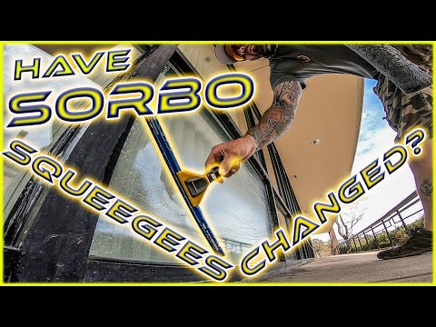 HAVE SORBO SQUEEGEE'S CHANGED?? | WINDOW CLEANING TOOLS