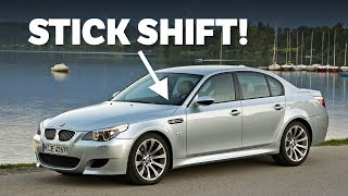 8 Cars That Surprised Us With A Manual Gearbox Option by Car Throttle