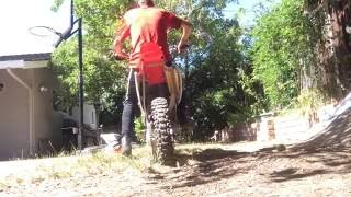 8. MY NEW BIKE : Walkaround & Exhaust Sound - 2004 Honda CRF-150F - Great Starter Bike