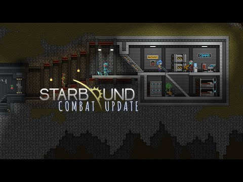 Starbound Combat Update — Lunar Base Run