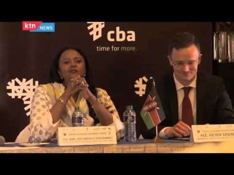 The Chamwada Report 1st May 2016 [Part 1] Episode 40 - Relationship between Kenya and Hungary