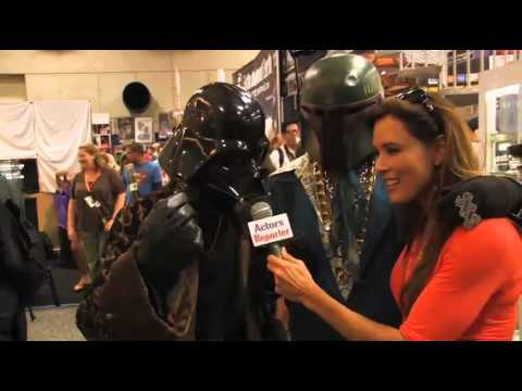 Part 2 Comic-Con 2012 coverage by Actors Reporter with host Christie Phiips