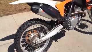 6. 2011 KTM 350 SX F