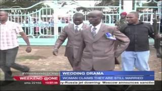 A woman disrupts wedding in Elbergon claiming the groom is her husband