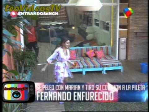 Marian VS Fernando entre las bromas y la bronca GH 2015 #GH2015 #GranHermano