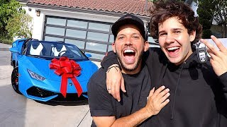 SURPRISING BEST FRIEND WITH LAMBORGHINI!!
