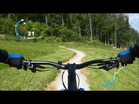 (cz) Bikepark Monínec 2020 Family trail